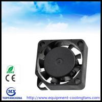 China 20x20x10MM Cpu Cooling Fan , Axial 24 Volt Brushless Dc Fan Motor Computer Case Cooling on sale