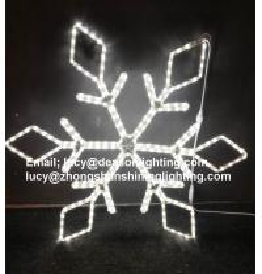 Quality christmas led snowflake light for sale
