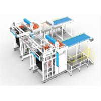 Horizontal Transfer Type Can Depalletizer Machine Weight 10ton In Blue Color