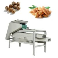 China 400kg/H Capacity Vibrating Screen Machine Nut Sheller 2.2kw Power ISO Certification on sale