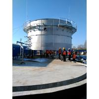 Quality Food Industry Waste Bolted Steel Tanks , Stainless Steel Storage Tanks for sale