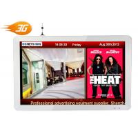 China 1920 * 1200 Network Digital Signage , 24 Inch 3G Media Player LCD Screen on sale