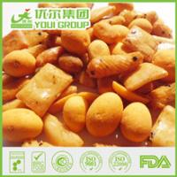 Quality Rice Crackers and Coated Peanuts Mix for sale