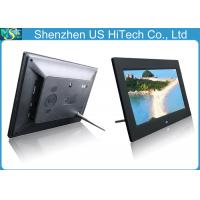 China USB / SD / Mini USB 10 Inch Digital Photo Frame , Family / Office Electronic Picture Frame on sale