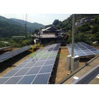 Quality Aluminum 6005 T5 Ground Mount Solar Racking AS/NZS 1170 for sale