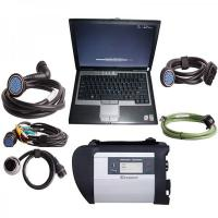 Quality V2012.11 MB SD Connect Compact 4 Mercedes Diagnostic Tool with DELL D630 Laptop Support Offline Programming for sale