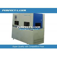 China 20W Solar Cell Fiber Laser Cutting Machine , Laser Scribing Machine Full Automatically on sale