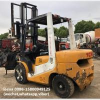 Quality used 3ton tcm forklift FD30T7 originally made in japan in 2010  low working hrs  2000-4000 hrs for sale