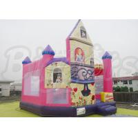 Quality Custom The Princess Inflatable Combo Bouncer For Frozen Anna Elsa In House for sale