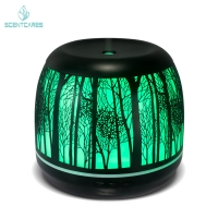 Quality 500ml Art Ultrasonic Cool Mist Aromatherapy Diffuser for sale