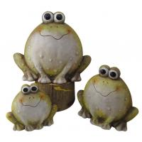 Frogs Animal Garden Ornaments , Outdoor Animal Statues For Backyard Images