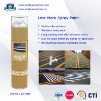 Quality Acrylic Aerosol Line Mark Floor / Road Marking Spray Painting 750ml Weather Resistance for sale