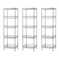 Quality Hotel Front Desk Display Metal Storage Shelves With Large Capacity for sale