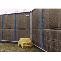 Quality Outdoor Residential Construction Noise Barriers 20dB 30dB 40dB noise Reduction Customized Own Size for sale