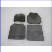 China Pressureless Sintered Armor Silicon Carbide Ceramic SiC Plate on sale