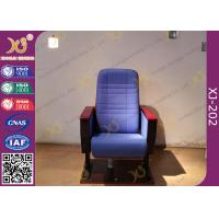 Buy cheap Cross Line Back Auditorium Chair Seating For Conference / Church Hall from Wholesalers