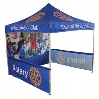Quality Sports game use 10x10 Folding Gazebo Tent floor standing promotion for sale