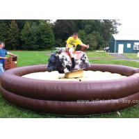 Quality Customized Mechanical Bull Riding , Mechanical Rodeo Bull For Adults for sale