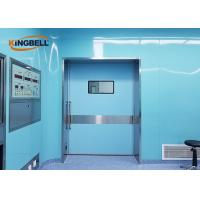 Quality Prevent Bacteria Growing Clean Room Modular Wall Systems Easy To Clean ISO Standard for sale