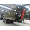 Mechanical Suspension 60T Heavy Duty 500MM Dump Semi Trailers for sale