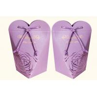 Quality paper drawstring gift bag for sale