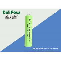 China High Temperature AAA Rechargeable Batteries , Nimh Rechargeable Aaa Batteries 900mAh  on sale