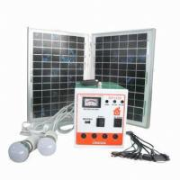 Quality Portable Solar Lighting System with Phone Charger for sale