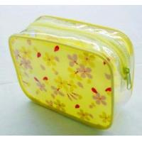 Quality Customized PVC printed waterproof cosmetic bag, PVC packing bag, toiletry bag for sale
