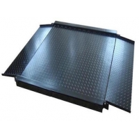 Quality 70mm Height 5T Electronic Industrial Floor Weighing Scales anti skid for sale