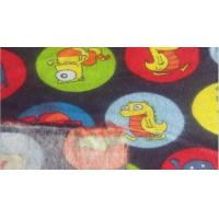 Quality Two side brush printed cotton flannel fabric for sale