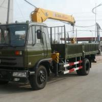 Quality XCMG SQ5SK3Q Mobile 5 Ton Truck Mounted Crane Max. Lifting Height 12.5m for sale