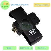 Quality Smart ID card reader ISO7816 PC/SC protocol card reader Android mobile smart card reader for sale