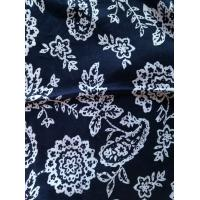 China Pure 100% linen fabric yarn dyed fabric used for T-shirt garment on sale