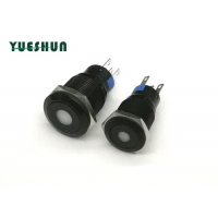 Quality DOT Ip67 19mm Illuminated Latching Push Button Switch for sale