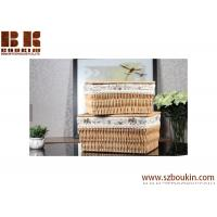 Quality Popular eco-friendly square PVC woven storage basket for flower gift, baby gift for sale
