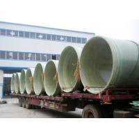 Quality fiber glass reinforced plastic pipe, high quality water pipe, water treatment, anti corrosion for sale