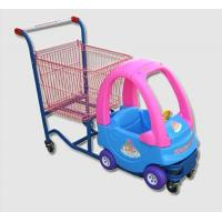Quality Cozy Coupe Metallic Kids Caddy Supermarket Shopping Cart For Grocery for sale