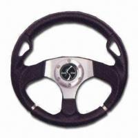 Quality Steering Wheel in Various Finishes, Crafted from Finest and Most Rugged Materials for sale