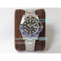 Quality GMF Rolex GMT-Master II Batman 126710BLRO 904L SS Watch Swiss ETA2836 for sale
