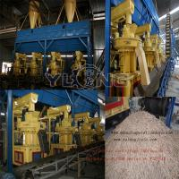 Quality 1-1.5T/H wood pellet production line/biomass pellet making line for sale