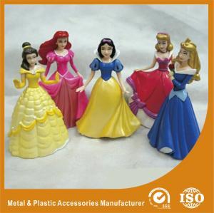 Quality Princess Fashion Doll Plastic Toy Figures Making 4 Inch Fashion Dolls Custom for sale