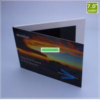 Quality Chinese Homemade Video Brochure, 7 Inch LCD Screen Greeting Card for sale
