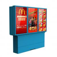 Quality Floor Type Double Sided Lcd Display Wifi /3G/4G/5G Network Support for sale