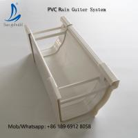 China Cheap Price Other Plastic Building Materials Type Rain Gutter Drainage System on sale