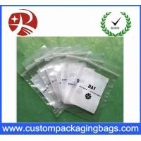 Recyclable Coloured Printed Ldpe Plastic Bag Packaging Double Ziplock