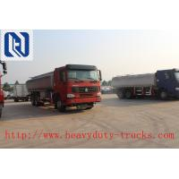 Quality White Sinotruk Howo 4x2 Liquid Tanker Truck / 6cbm Small Fuel Tank Truck for sale