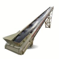 China Professional Mobile Belt Conveyor  Belt Conveyor Machine  Width 800 Mm on sale