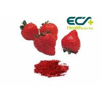 Nutritional Organic Superfood Powder , Micronized Freeze Dried Strawberry Powder