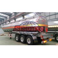 Buy 55000 Cubic Meter Tank Semi Trailer Strong Aluminium Alloy Marerial at wholesale prices