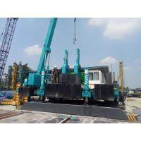 Quality Mini Hydraulic Piling Machine , Small Pile Driving Equipment No Noise for sale